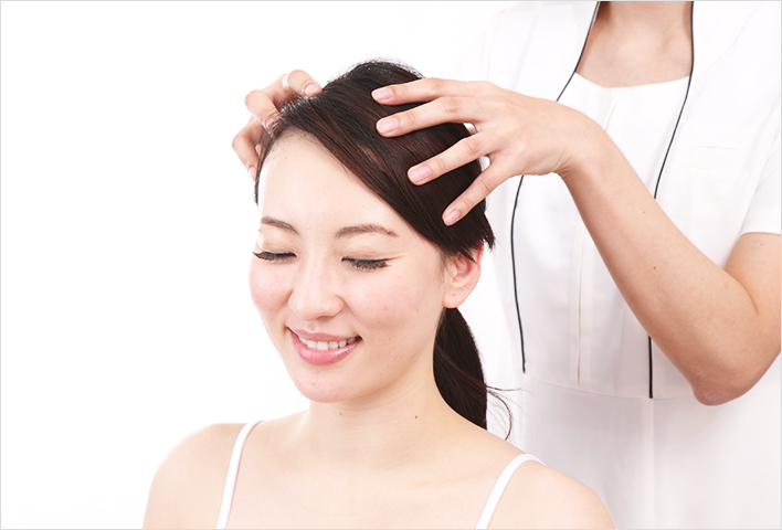 Your scalp carries twice the amount of sebum as your face