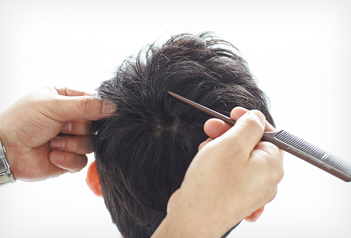 Haircuts and self-maintenance of the scalp and hair
