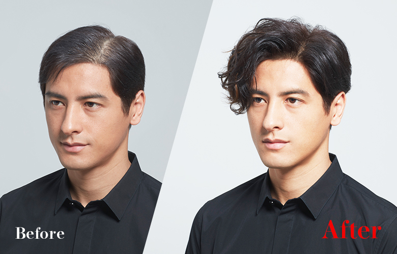 Make use of your existing hair to increase hair volume. Fuss-free Maintenance.