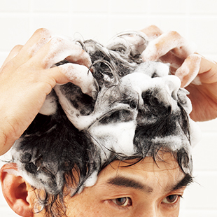 Wash and Shampoo your hair the way you like