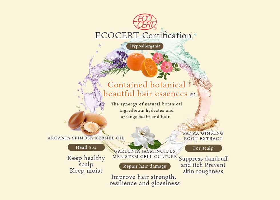 Luxury blend of natural and organic ingredients