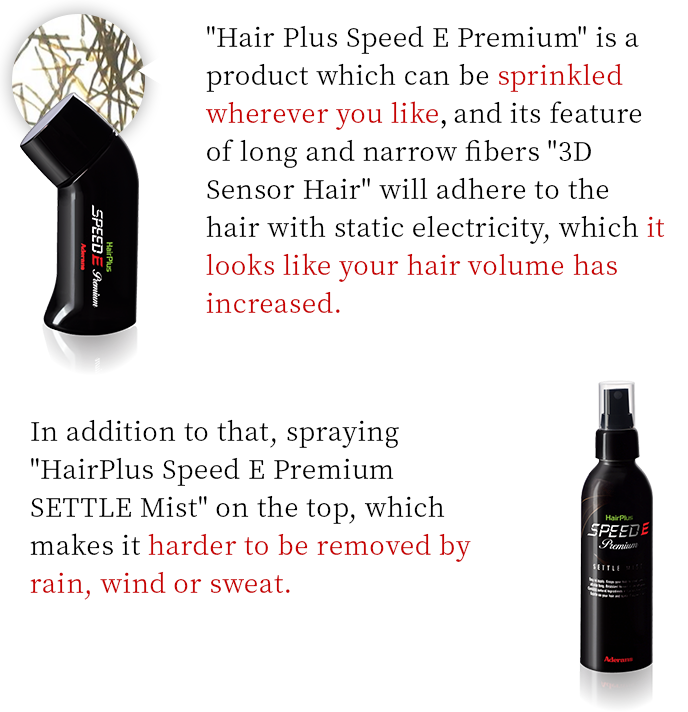 What is HairPlus SPEED E Premium?