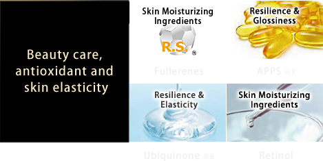 Beauty care,antioxidant and skin elasticity