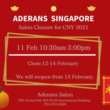 Shop close information during Chinese New Year 2021